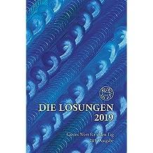Die Losungen 2019. Deutschland / Die Losungen 2019: Geschenkausgabe Normalschrift