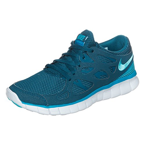 Nike Wmns Free Run 2 Ext, Baskets Basses Femme blue force light blue clearwater white 405