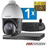 Hikvision PTZ Überwachungskamera set PoE