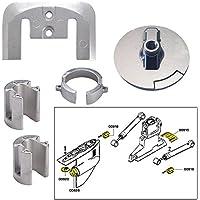 Tecnoseal ánodo Kit w/Hardware–Mercury Bravo 1–aluminio - 20803AL