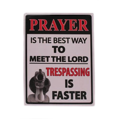 rivers-edge-products-prayer-is-the-best-way-tin-sign-16-inch