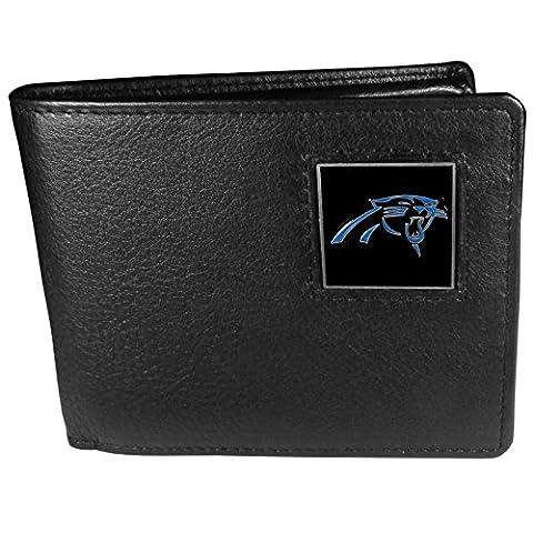 NFL Carolina Panthers Leather Bi-fold Wallet