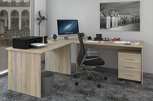 Phoenex Sonoma Phönix-Tisch-Sonoma Winkelschreibtisch,, gebraucht gebraucht kaufen  Wird an jeden Ort in Deutschland