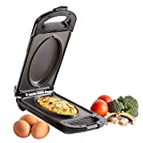 VonShef Large Omelette Maker - Electric Egg Pan with Non Stick Grill