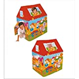 #1: Shop & Shoppee Kids House Big Size Tent, Playhouse -- Fun Cottage for Indoor or Outdoor Activity (Multicolor)
