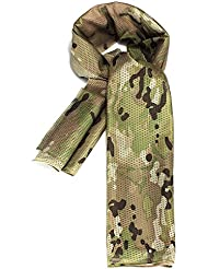 SODIAL(R) Foulard Echarpe Cheche Cache-Col Camouflage Tactique Militaire Armee Police Moto camouflage d'ACU