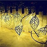 Im Freien Wasserdichte Urlaub Dekoration Solar String Licht Led Schmiedeeisen Kette Hochzeit...