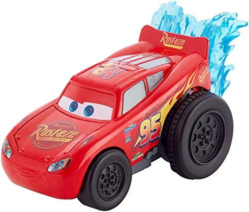 Mattel Disney Cars DVD38 - Disney Cars 3 Splash Racers Lightning McQueen (Cars Disney Spielzeug Wasser)