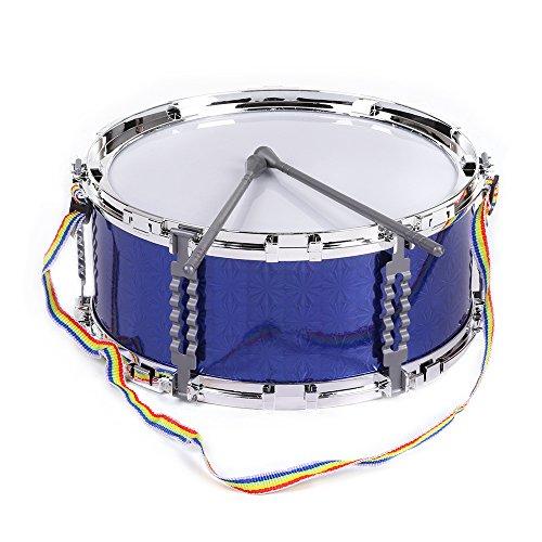 ammoon-colore-jazz-snare-drum-jouet-musical-instrument-a-percussion-avec-baguettes-sangle-pour-les-e