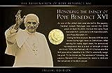 IMPACTO COLECCIONABLES Vatikan, 50 Cents. Papst Benedikt XVI. Motivkarte