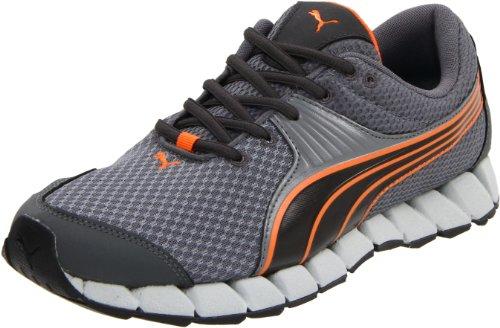 Puma Osuran Toile Chaussure de Course Steeel-Dark Shadow-Blk-Orange
