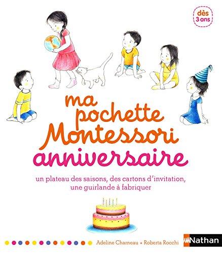Ma pochette Montessori d'anniversaire par Adeline Charneau