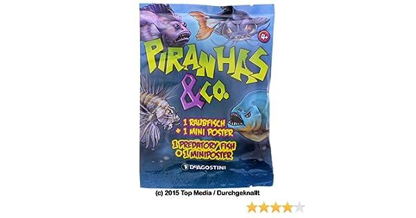 From Blind Bags Predatory Fish CHOOSE Figures! DeAgostini Piranhas /& Co