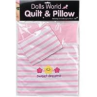 Dolls World Quilt & Pillow Set