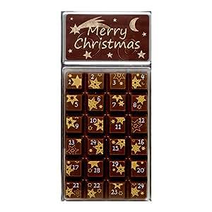 schokolade weibler adventskalender zartbitterschokolade. Black Bedroom Furniture Sets. Home Design Ideas