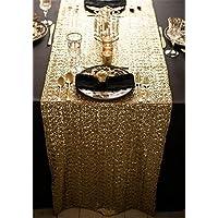 TRLYC 33x 182,9cm paillettes–Runner da tavolo qualsiasi colore, Altro, trlyc gold, 13