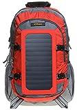 XTPower SP507BL 6,5 W Mochila solar en gris rojo -...