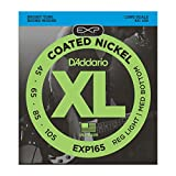D'Addario EXP165 Bass Nickel-Saitensatz Long 0,11 cm - 0,27 cm (.045 - .105 Zoll)