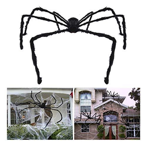 Unomor Halloween Deko Halloween Spinne Deko Spinnennetz Dekoration (Halloween Spinne Deko)