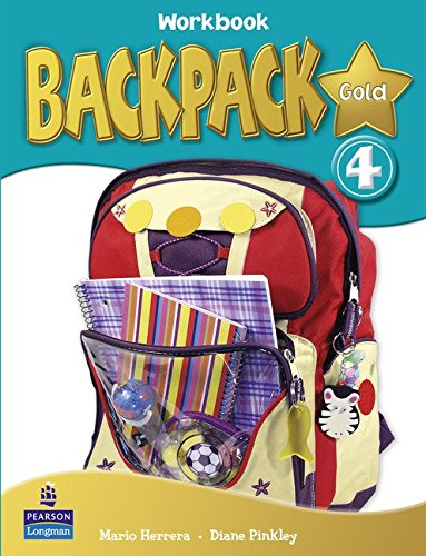 Backpack Gold 4 Workbook, CD and Content Reader Pack Spain