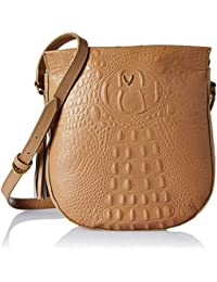 Hidesign Women's Shoulder Bag (Tan)