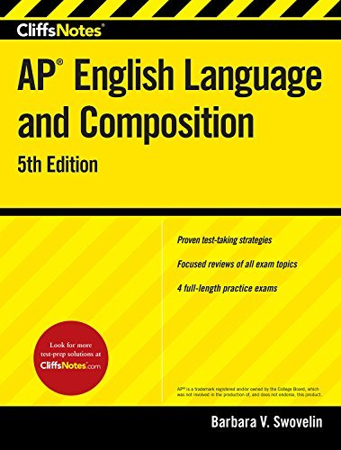 CliffsNotes AP English Language and Composition, 5th Edition (English Edition)