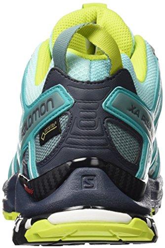 Salomon Xa Pro 3d Gtx W, Scarpe da Trail Running Donna Turchese (Aruba Blue/Ombre Blue/Lime Punch.)