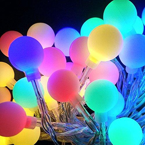 Solar String Lichter, 30 LED Patio Outside String Lights, wasserdichte Indoor / Outdoor solarbetriebene Fairy Beleuchtung, große Garten Terrasse Terrasse außerhalb Xmas Lights Festliche Atmosphäre Lic