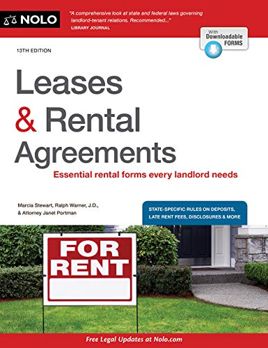 Leases & Rental Agreements: Keep Your House or Walk Away With Money in Your Pocket (English Edition)