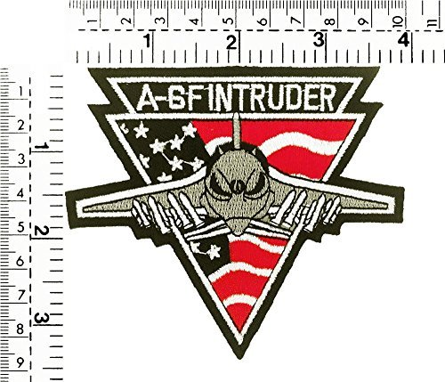 A - 6f Intruder Military U.s. Army Air Force Patch Embroidered Iron on Cap Jacket (Intruder Patch)