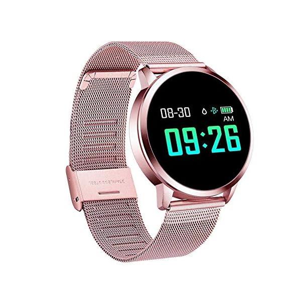Naack Reloj Inteligente Pulsera Monitor de frecuencia cardíaca smartwatch Monitor De Ritmo Cardíaco Mujeres Hombres… 10