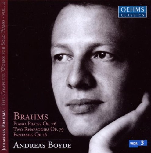 Complete Works for Solo Piano 4 by J. Brahms (2010-06-29)