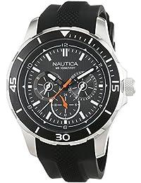 Nautica Reloj Analógico de Cuarzo para Hombre con Correa de Silicona – NAI13523G