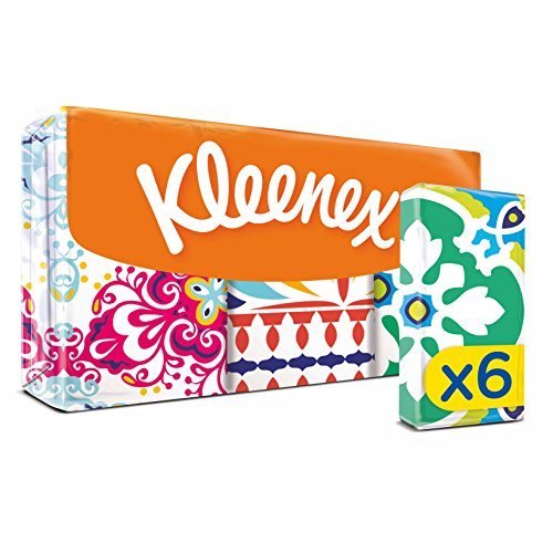 kleenex-collection-mini-hanks-6-x-7-sheets-pack-of-18-total-108-packets