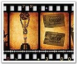 JP London schälen und Stick Abnehmbare Wandtattoo Aufkleber Wandbild, Retro Filmstreifen Hollywood, 24von 19.75-inch