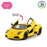 #7: Smiles Creation™ Ferrari Die-Cast Classic Car with Pull Back Action Toy for Kids-Multicolor