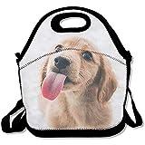 Lunchpaket Wiederverwendbare niedliche Hundefutter-Handtasche Individueller Lunchpakethalter Gedruckte Lunchpaket-Einkaufstasche Multifunktions-Lunchpaket-Organizer
