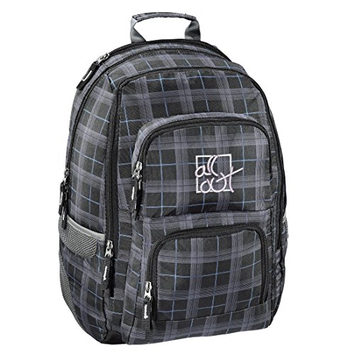 All Out Rucksack Louth (Harvest Check, 26 Liter) grau -