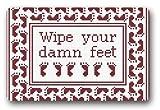 Doormat No.01 standard-store Custom motivo moda Wipe your Feet Zerbino