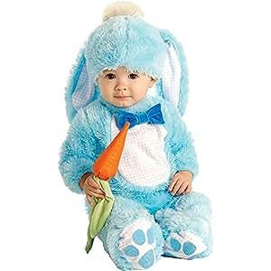 Handsome Lil 'Wabbit - Blu - Baby Grow - Childrens Costume - da 6 a 12 mesi