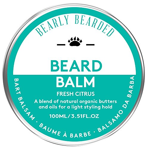 Beard-Butter-Balm-by-Bearly-Bearded-XXL-100ml-Style-Control-and-Condition-your-beard-with-our-blend-of-natural-oils-and-butters-including-Coconut-Oil-Mango-Butter-Avocado-Butter-Cocoa-Butter-and-Coffe