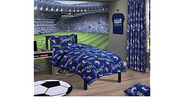 Bettwäsche Bettwäschegarnituren Fußball Nummern Geometrisch Rot Baumwollgemisch Doppel 4 Teile Bettwäsche Set
