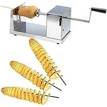 Ambienceo Manual de Acero Inoxidable Cortador de Patatas Espiral Twister Vegetales Chips Cortador de la Cocina Cocina de Herramientas de Suministro