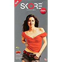 PleasureWorld - Skore Kondome Cherry - 10 Count preisvergleich bei billige-tabletten.eu