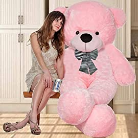 AVSHUB Teddy Bear  5 Feet, Pink