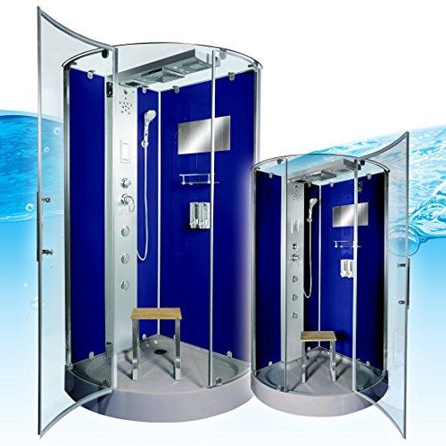 AcquaVapore DTP6037-4201 Dusche Duschtempel Komplett Duschkabine -Th. 100x100, EasyClean Versiegelung der Scheiben:2K Scheiben Versiegelung +99.-EUR