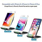 schnell-ladegerät kabellos, nanami wireless charger qi, 2aufnahmehülsen induktion schnelle für samsung galaxy s7/s6/s6edge plus und weitere kompatible geräte qi, schwarz - 51xhBWS8zxL - Schnell-Ladegerät Kabellos, Nanami Wireless Charger Qi, 2Aufnahmehülsen Induktion Schnelle für Samsung Galaxy S7/S6/S6Edge Plus und weitere kompatible Geräte Qi, Schwarz