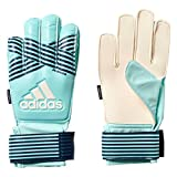 adidas Kinder ACE FS Junior Torwarthandschuhe, Energy Aqua f17/energy Blue s17, 7