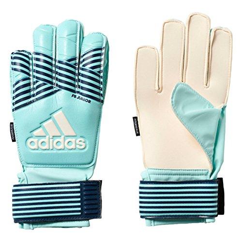 adidas Kinder ACE FS Junior Torwarthandschuhe, Energy Aqua f17/energy Blue s17, 8