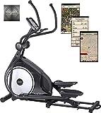 MAXXUS Crosstrainer/Ellipsentrainer CX 7.6i mit APP Steuerung iconsole+, flache, elliptische Laufbewegung für ein gesundes Lauftraining